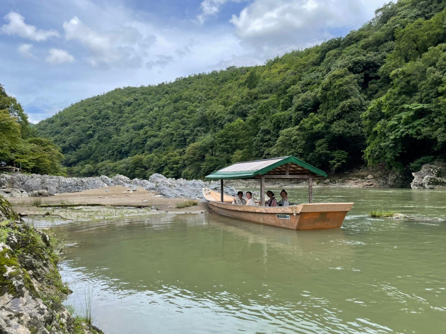 夏の涼を求めて屋形船